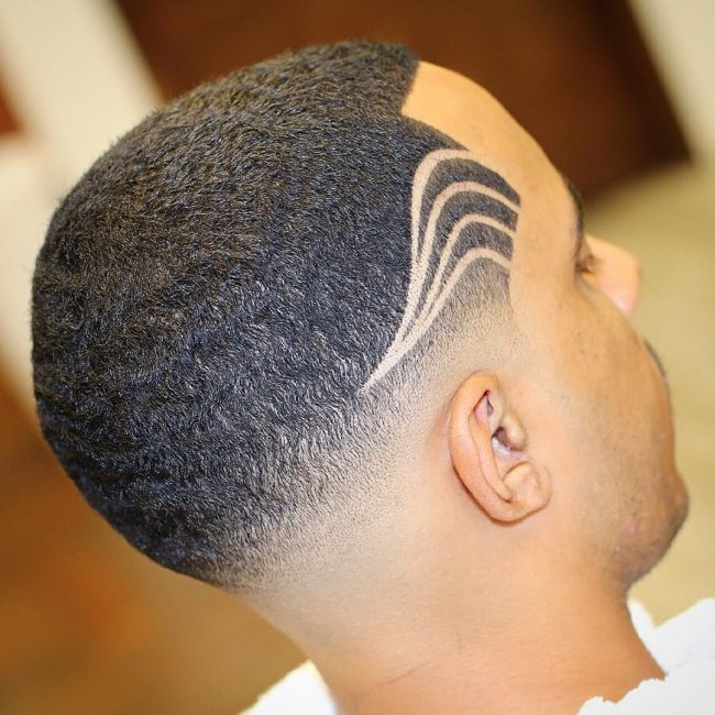50 Patterned Haircut Designs Fabulous