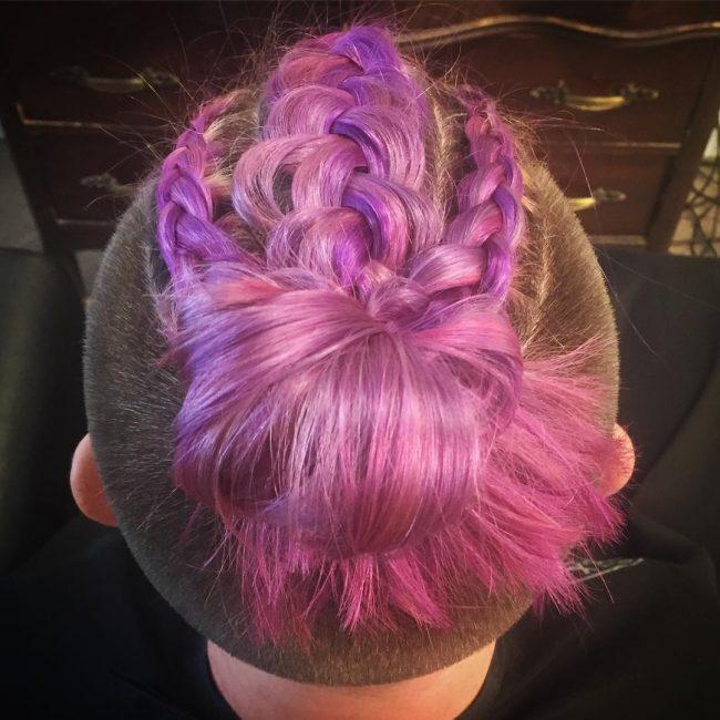 40-creative purple top