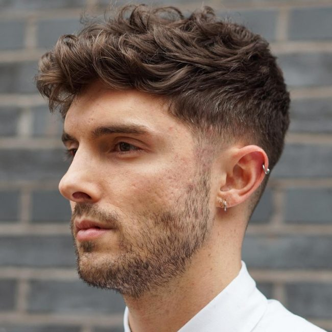styling mens wavy hair 30 refined wavy and curly hairstyles for the best 1932