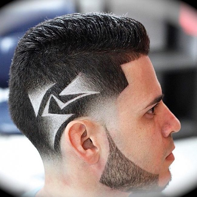 Undercut Patterns Men