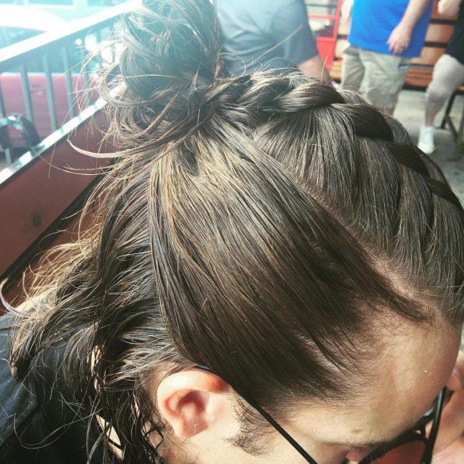43-french-braid-into-a-bun
