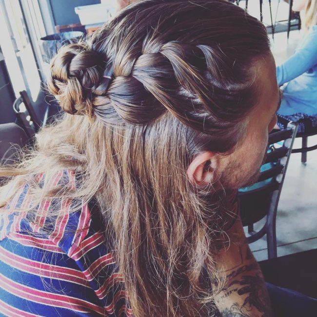 50-double-braided-half-up-ban-bun