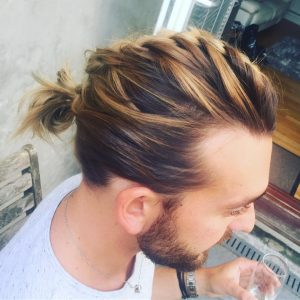 55-french-braid-bun-hairstyle