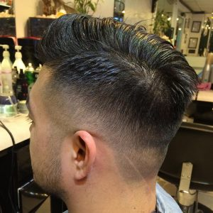Classy Fade and Comb Over
