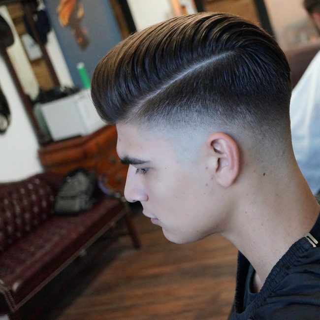 Flawless Classic Pompadour
