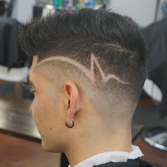 55 classy low fade haircut styles the ultimate selection 15 funky razor design urmus Gallery