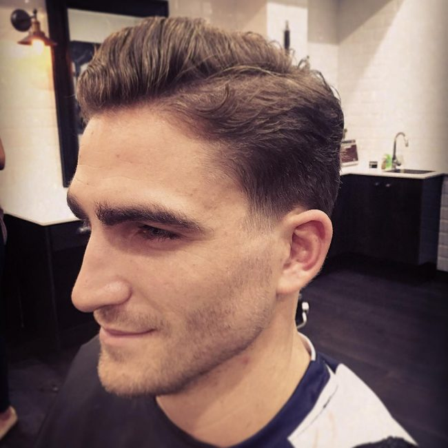 55 smart taper fade haircut styles clean and crisp looks for men 11 low taper with waves urmus Gallery