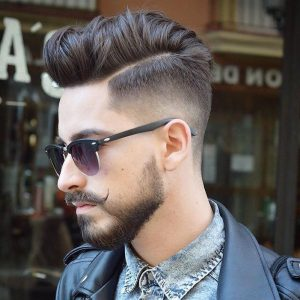 Naturally Textured Comb Over