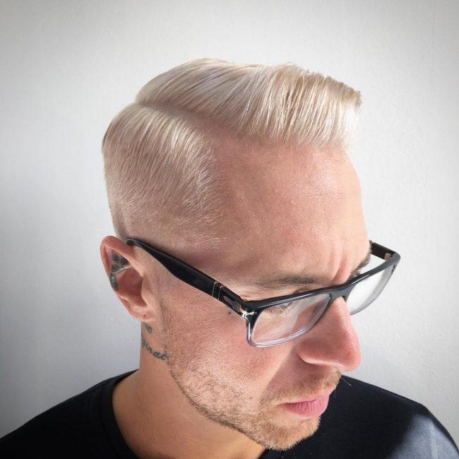 Platinum Blonde Pomp