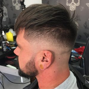skin-fade-with-textured-bangs-on-top