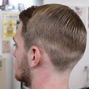 slicked-hairstyle-with-fade