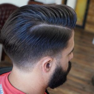 Tapered Comb Over