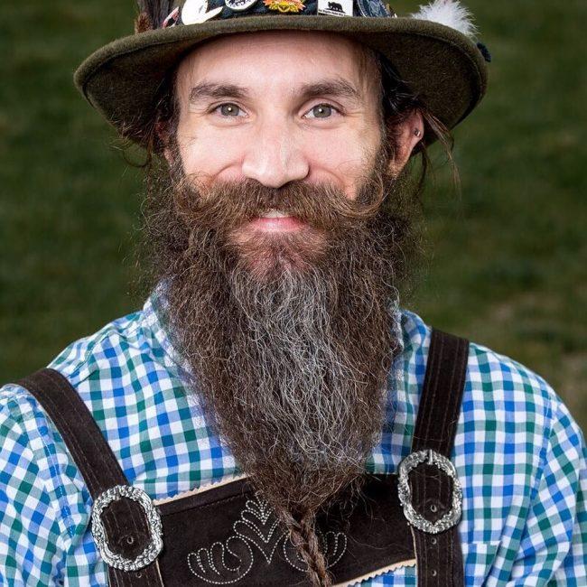 Unkempt Imperial Beard