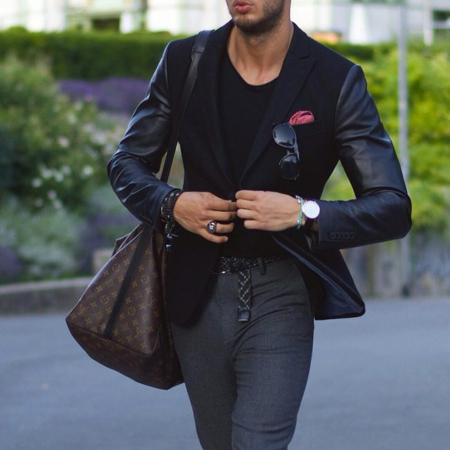 12-the-classy-leather-arm-blazer