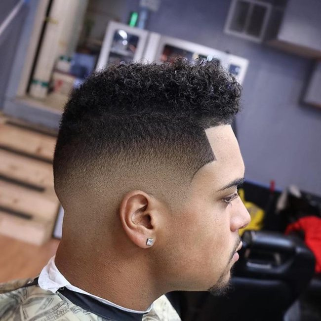 Low Fade with Shape Up