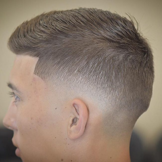 Short Taper Cut