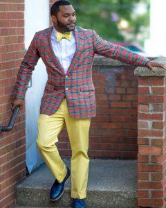 16-pink-checkered-blazer-with-bowtie