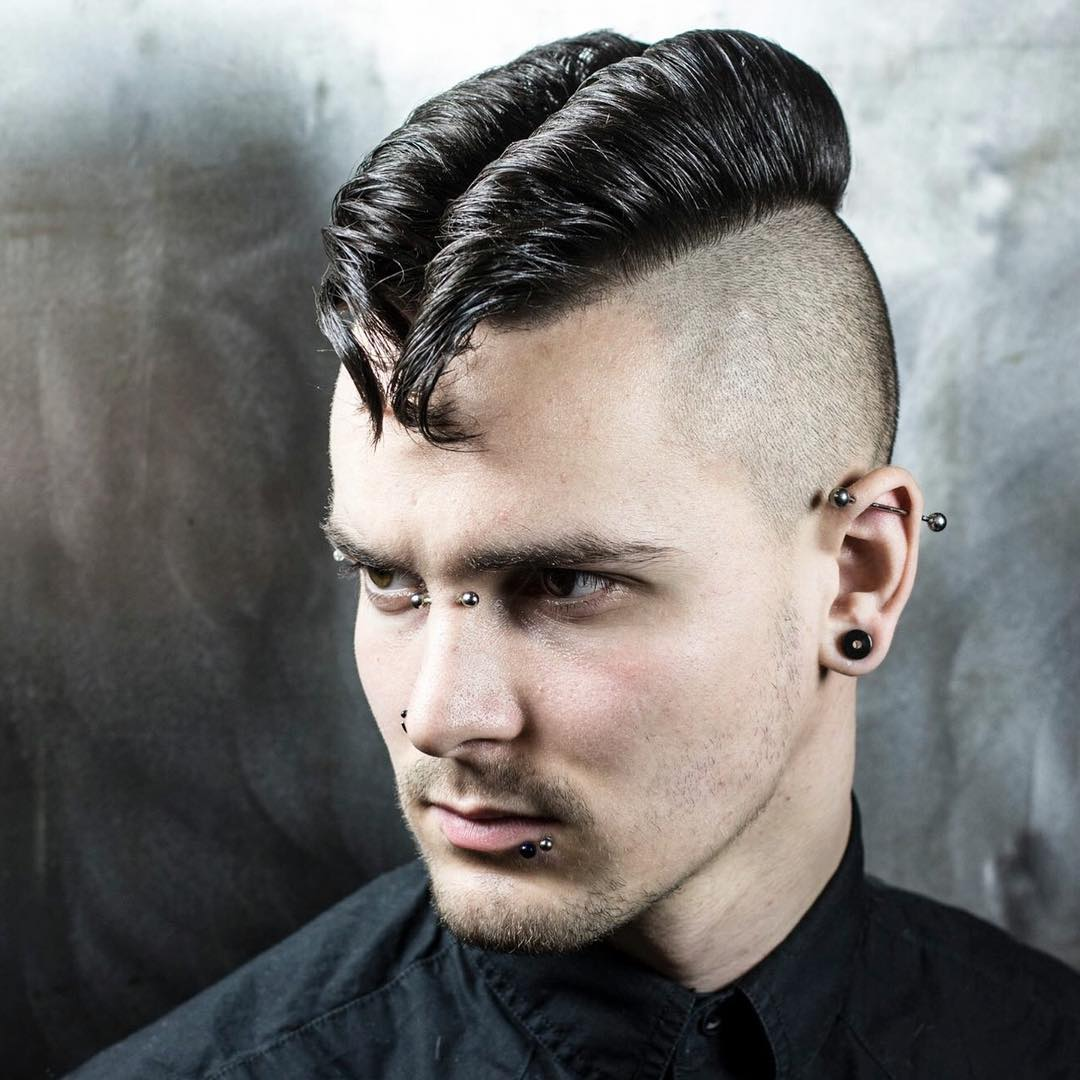55 Spectacular Faux Hawk Fade Ideas