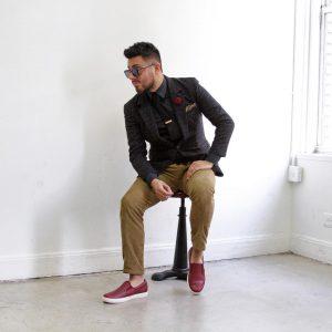2-brown-cotton-checkered-blazer