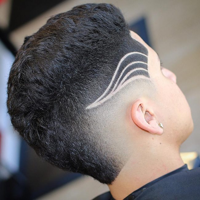Cool Line Designs In Hair : Marvelous line up haircuts for men a shapely addition