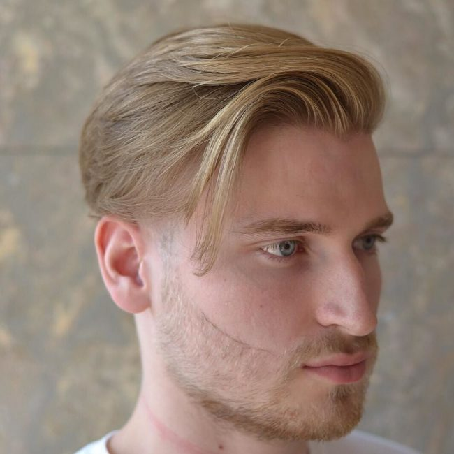 21 Undercut With Smooth Side Swept Locks