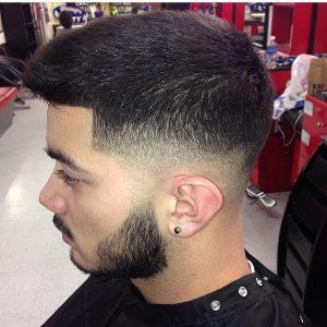 22-shaped-bald-fade
