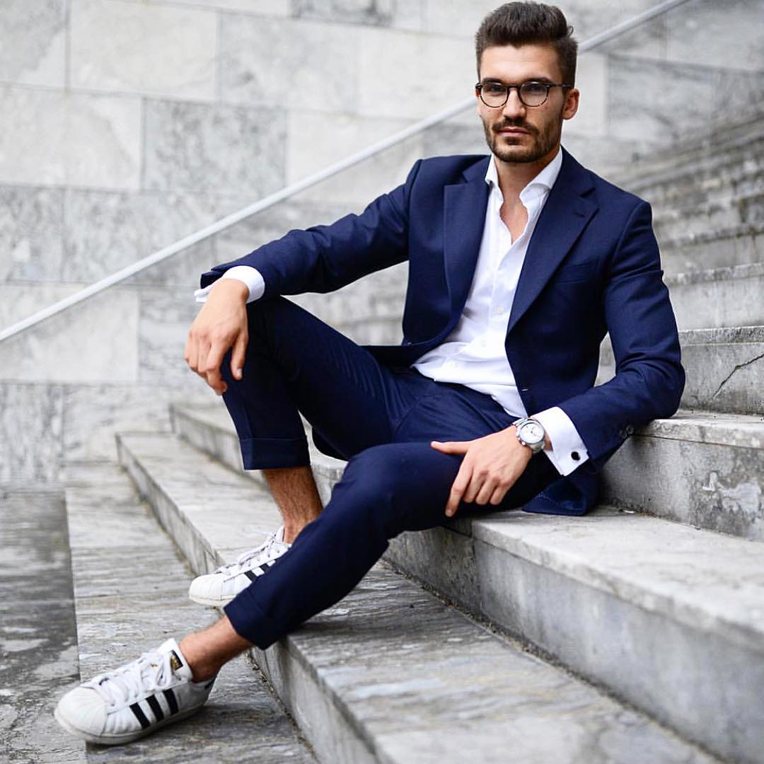 45 Head Turning Navy Blue Suit Ideas Part Chic Styles