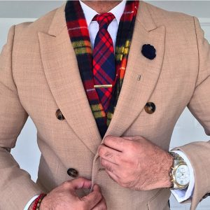 27-baby-pink-blazer-with-checkered-tie