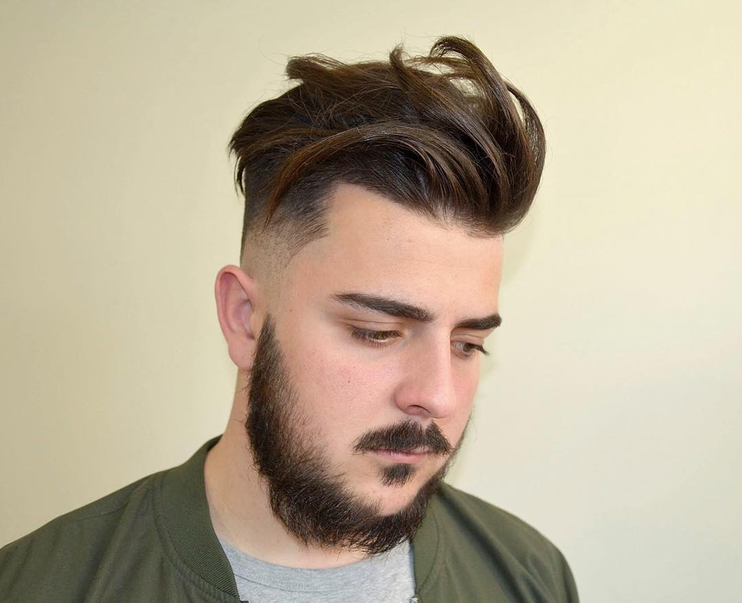 65 Glamorous Mens Haircuts For Round Faces Trendy And Unique Look