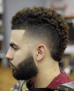34-faded-faux-hawk-with-tight-curls