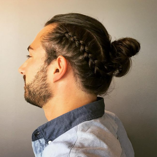 34-twisted-man-bun
