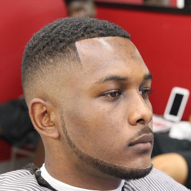 Drop Fade Waves Haircut With Part 105