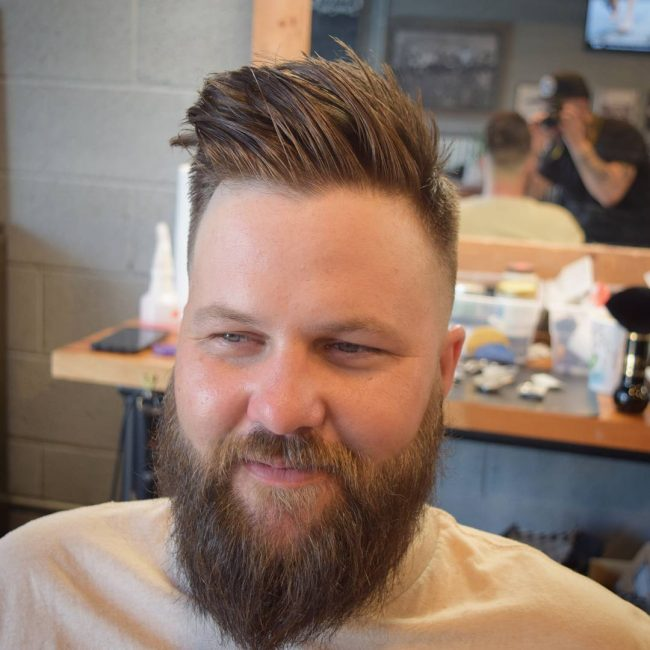 65 Glamorous Men S Haircuts For Round Faces Trendy And Unique Look