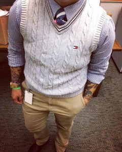 6-tie-and-chequered-shirt-look