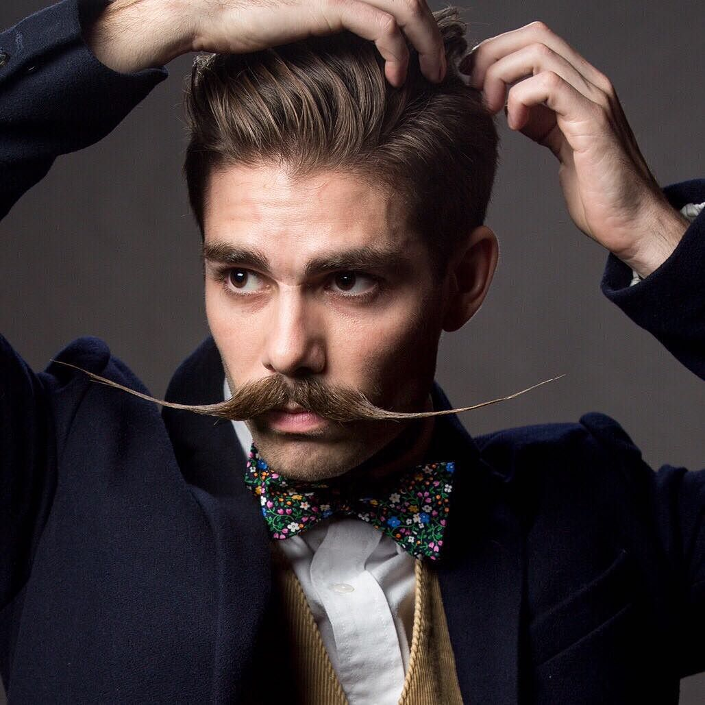 25 Exclusive Handlebar Mustache Styles - Rock This Trend Today