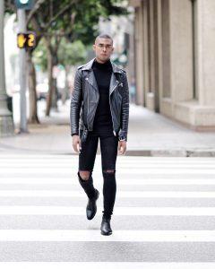 Leather Jacket 52