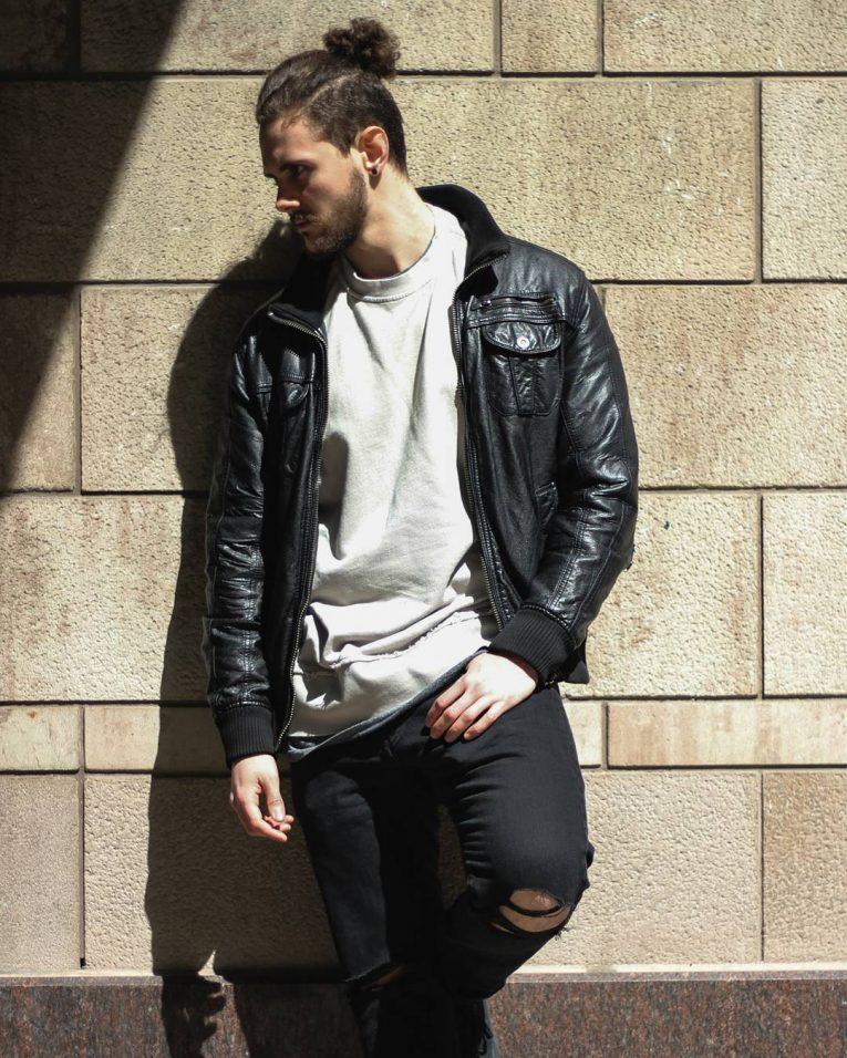 Leather Jacket 55