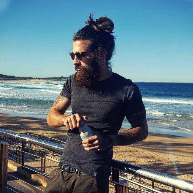 man-bun-and-full-beard