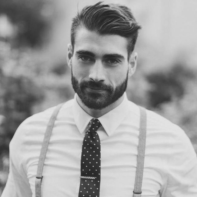 parted-pompadour-with-full-beard