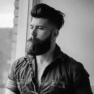topknot-and-full-beard