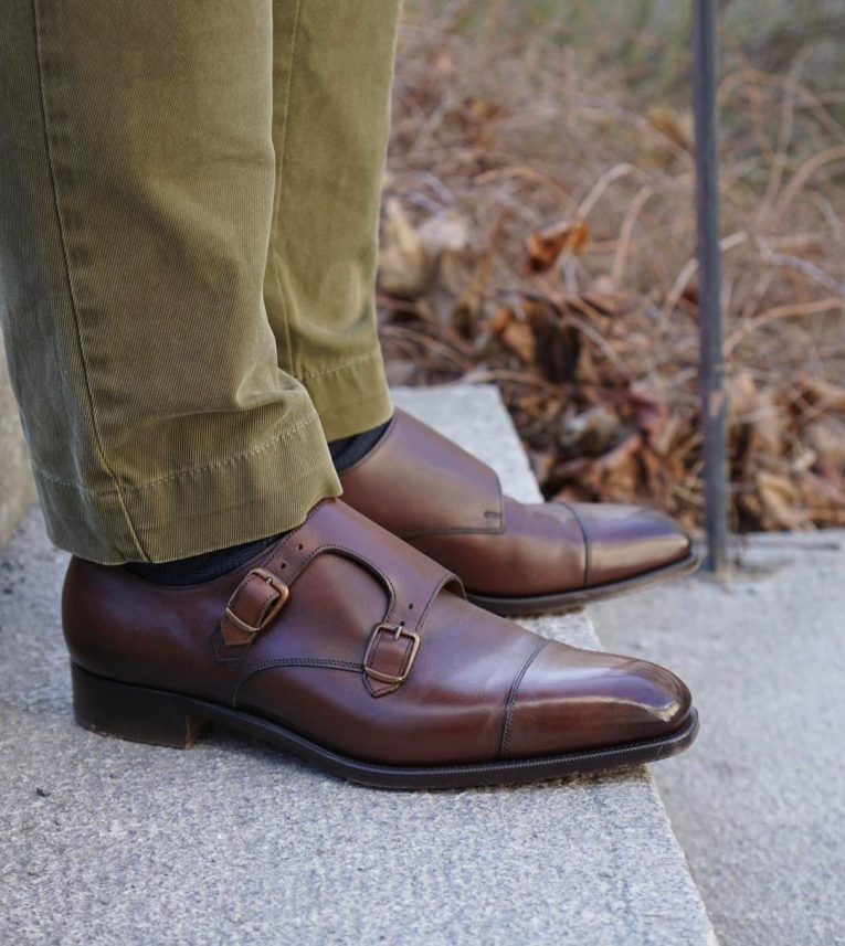 monk strap shoes 11