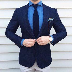 navy blue suit 11