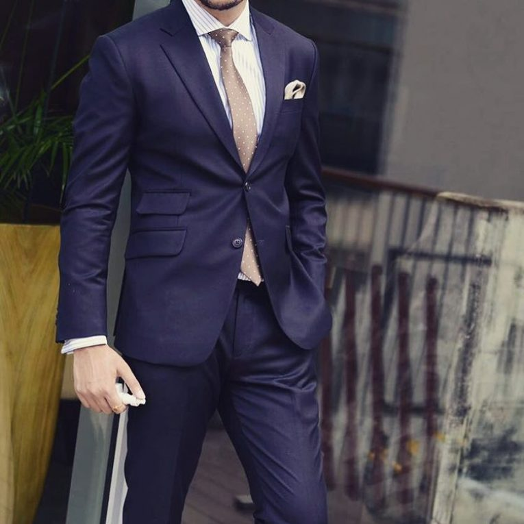 navy blue suit 12