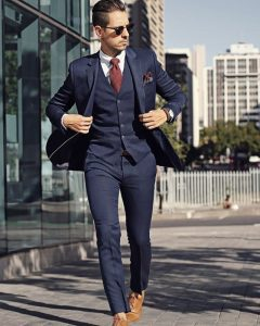 navy blue suit 14