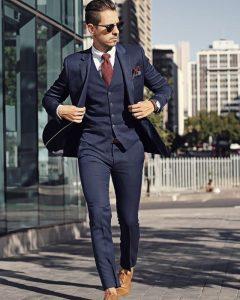 navy blue suit 14