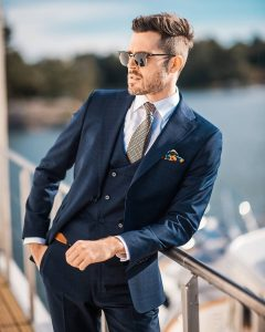 navy blue suit 7