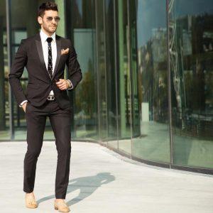slim fit suit 12