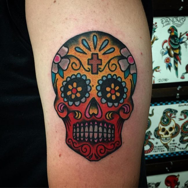SugarSkullTattoo1