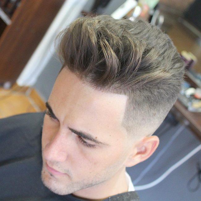 11-low-pompadour-quiff-with-blond-top