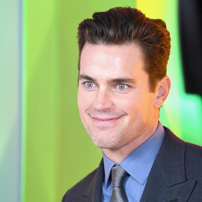 11 Matt Bomer Likes Chestnut Hair